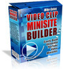 Thumbnail NEW.video clip mini site builder(private label rights inc)