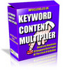 Thumbnail key word content multiplier with resale rights