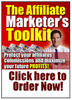 Thumbnail affiliate marketers toolkit with master resale rights