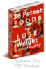Thumbnail 36 potent foods with plr