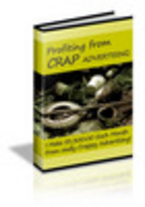 Product picture how to profit from cr*p advertising