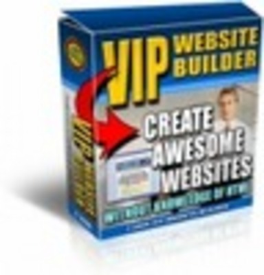 Product picture *NEW* vip website builder,(INSTANT DOWNLOAD)