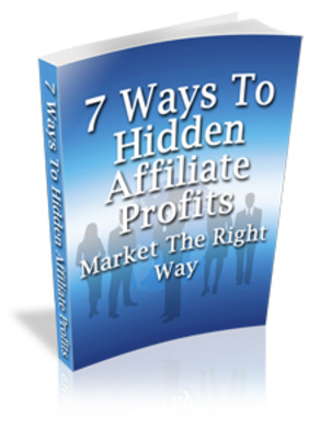 Product picture 7 Ways To Hidden Affiliate Profits With MRR