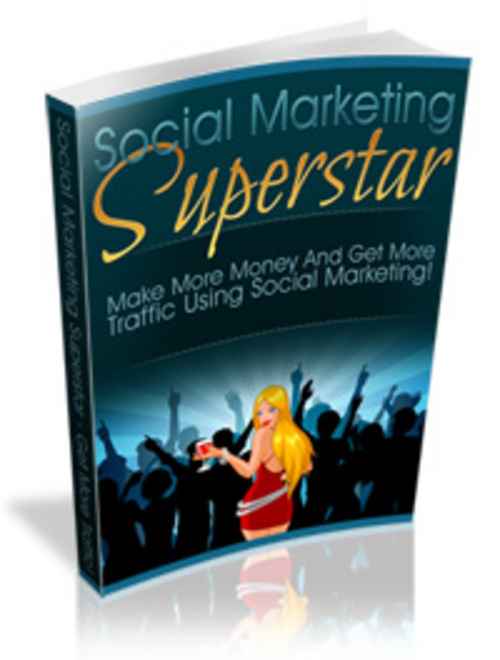 Product picture *new!* Social Marketing Superstar Ebook And Videos Mrr inc