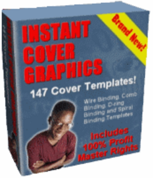 Product picture New Instant Cover Graphics With Master Resale Rights