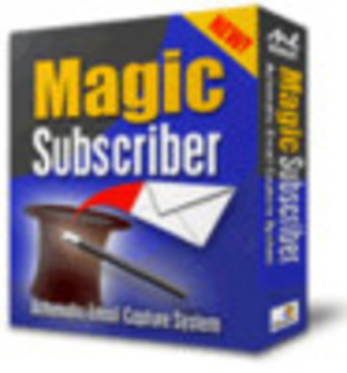 Product picture Magic Subscriber Automatic Email Capture System